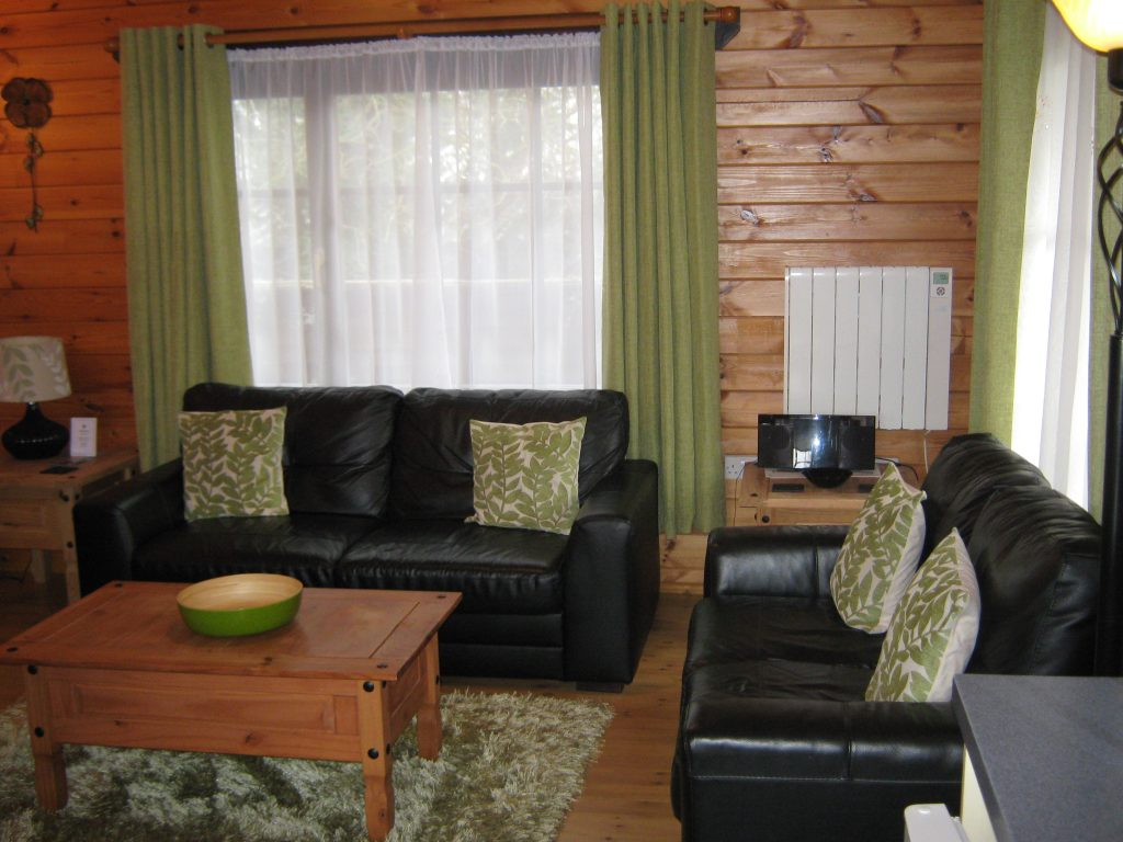 Cherry Lodge Living Area