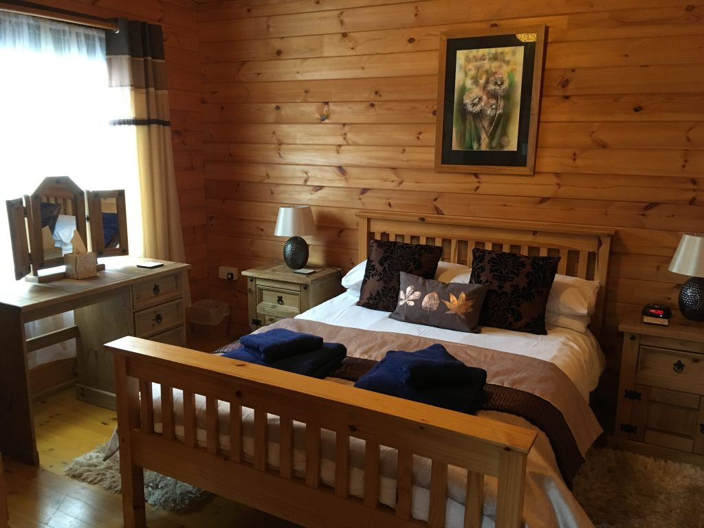 Cherry Lodge Double Bedroom